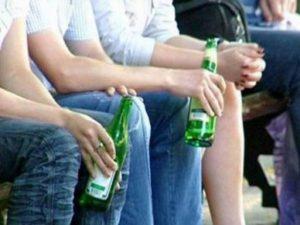 Запрет на распитие пива в общественных местах