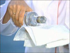 За и против – обтирание водкой при температуре