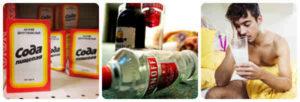 Сода от похмелья - лечение алкоголизма пищевой содой