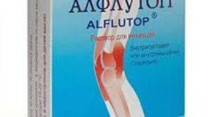 Применение уколов Алфлутоп от заболеваний суставов