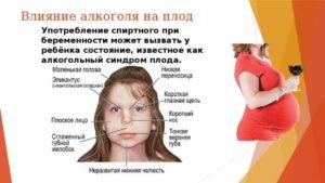 Опасность употребления алкоголя на ранних сроках беременности