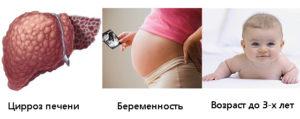беременность и цирроз печени
