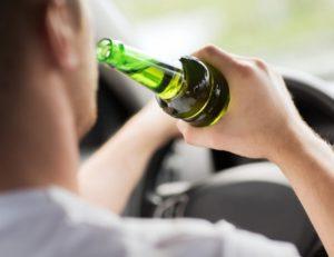 Управление автомобилем в состоянии алкогольного опьянения в 2017 году