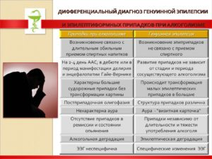 Алкоголизм и эпилепсия какие могут быть последствия