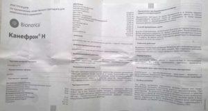 Канефрон при цистите: инструкция по применению и отзывы