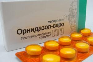 Орнидазол и алкоголь