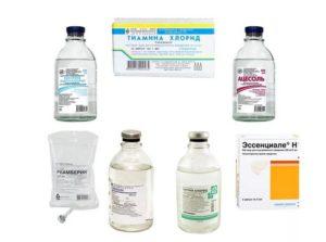 Препараты для снятия алкогольной интоксикации