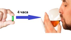 После антибиотиков нельзя употреблять алкоголь в течении