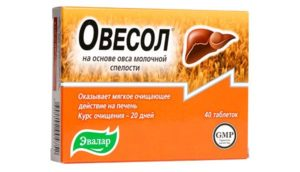 Овесол и алкоголь: очищение печени
